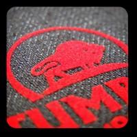 Flok Kaplı t-shirt etiketi